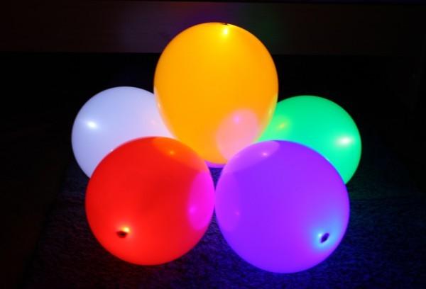 75 Светящиеся шары