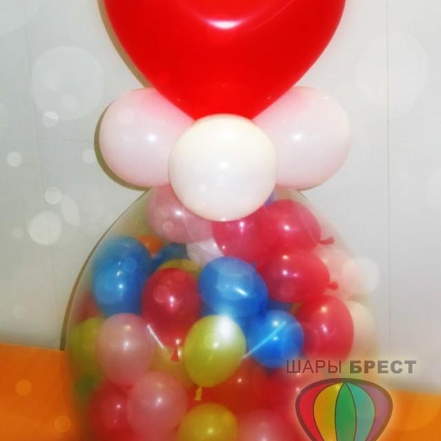 ypm7Hk0N-nA-640x640 Упаковка подарка в шар