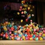 оформление шарами, сброс шаров Брест