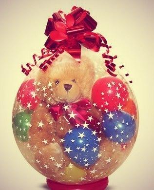 TitGt3Zi84E Упаковка подарка в шар