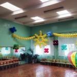 оформление шарами садиков Брест
