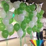 оформление шарами магазинов брест