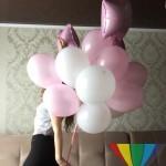 оформление шарами, гелиевые шары